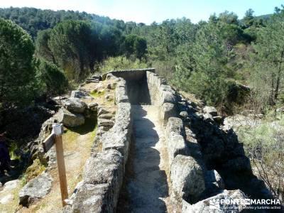Valle de la Pizarra y los Brajales - Cebreros; camino smith rascafria madrid